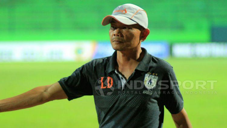 Pelatih Persipura Jayapura, Liestiadi. Copyright: © Ian Setiawan/Indosport