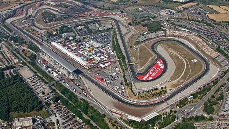 Penampakan Sirkuit Catalunya. Copyright: © MotoGP.com