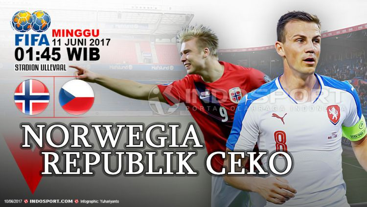 Prediksi Norwegia vs Republik Ceko. Copyright: © getty images