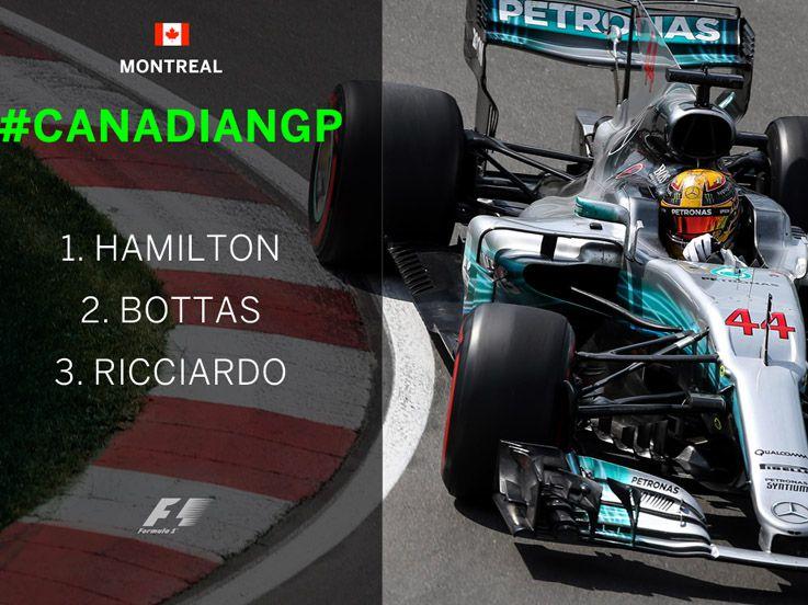 Hamilton Berjaya, Vettel Menggila di Lap Akhir GP Kanada