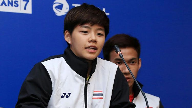 Atlet Bulutangkis Thailand, Sapsiree Taerattanachai. Copyright: © HUMAS PBSI