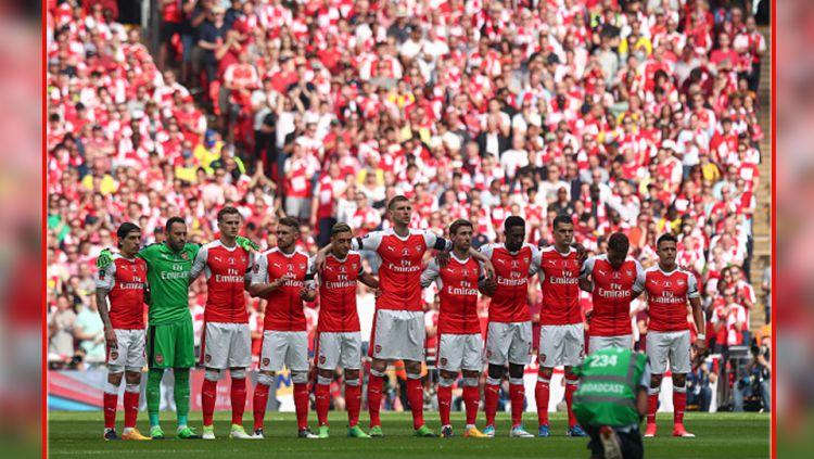 Skuat Arsenal 2016/17. Copyright: © INDOSPORT