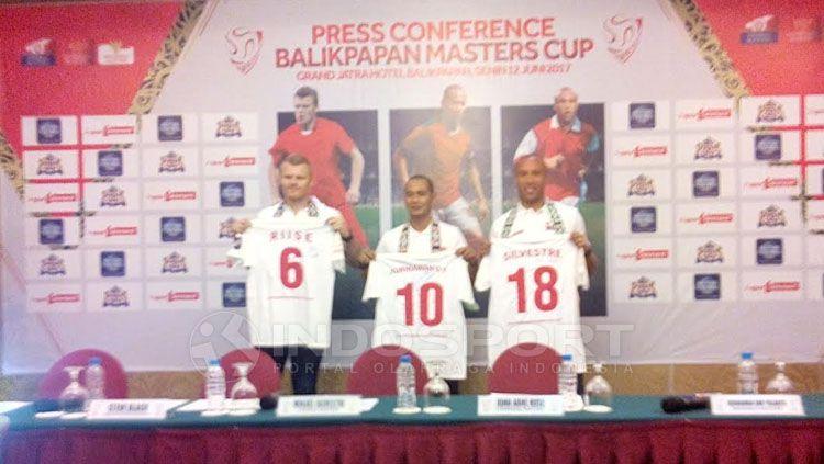 Konferensi pers Balikpapan Master Cup. Copyright: © Teddy Rumengan/INDOSPORT