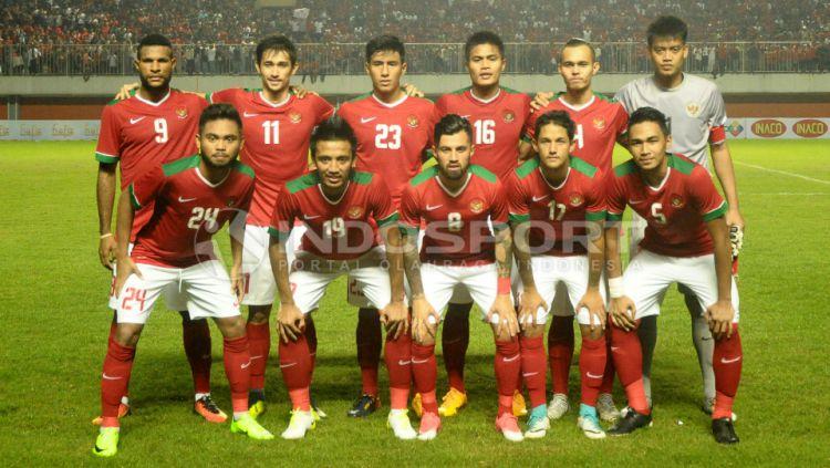 Skuat Timnas Indonesia Copyright: © INDOSPORT/Prima Pribadi