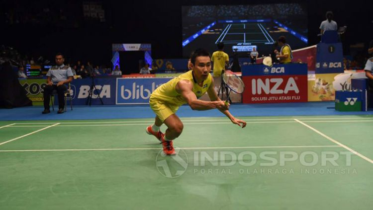 Lee Chong Wei pasang target gelar di Asian Games 2018. Copyright: © Herry Ibrahim/Indosport