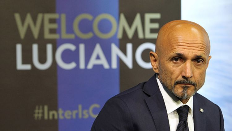 Luciano Spalletti, pelatih Inter Milan. Copyright: © getty images