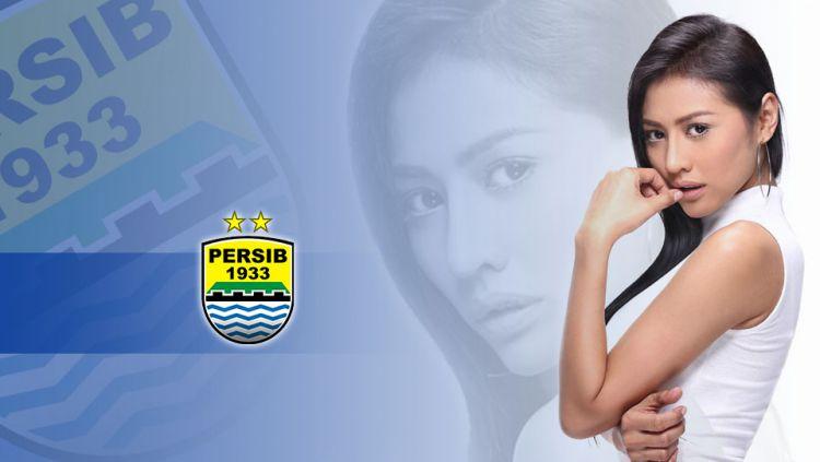 Jelly Jelo, model cantik pencinta Persib Bandung. Copyright: © Dok. Pribadi