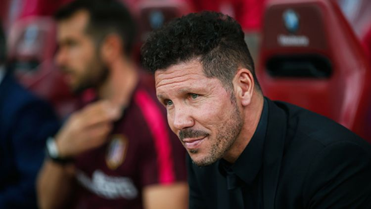 Diego Simeone, pelatih Atletico Madrid. Copyright: © getty images