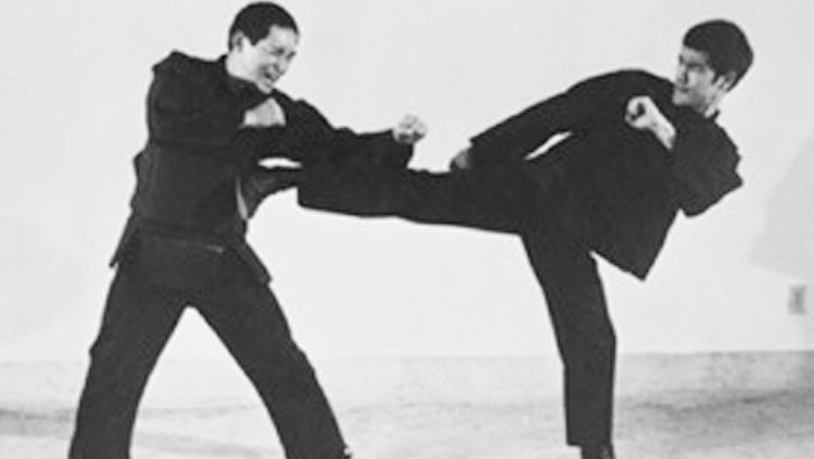 Ted Wong vs Bruce Lee. Copyright: © Pinterest
