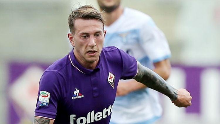 Penyerang Fiorentina, Federico Bernardeschi. Copyright: © getty images