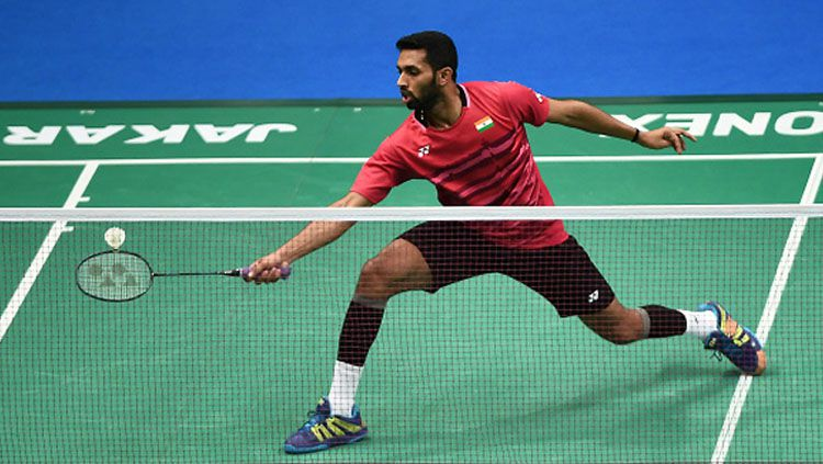 Prannoy Haseena Sunil Kumar. Copyright: © Getty Images