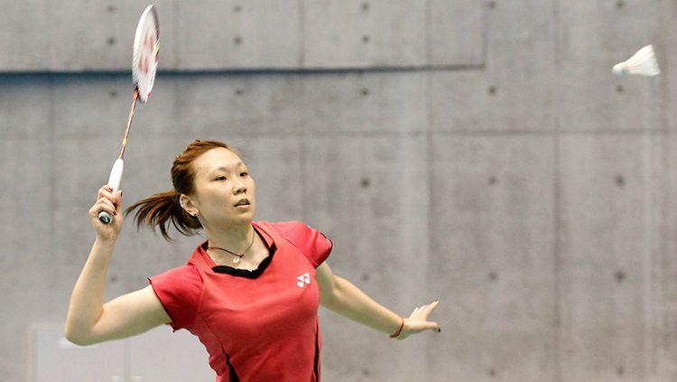 Berita sportainment: Beiwen Zhang, pebulutangkis Amerika Serikat yang menjadi sorotan BWF saat Hong Kong Open 2019. Copyright: © BWF