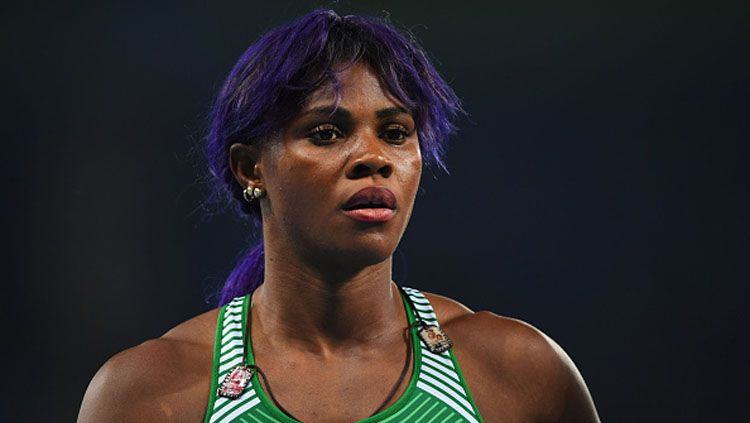 Blessing Okagbare-Ighoteguonor. Copyright: © Getty Images