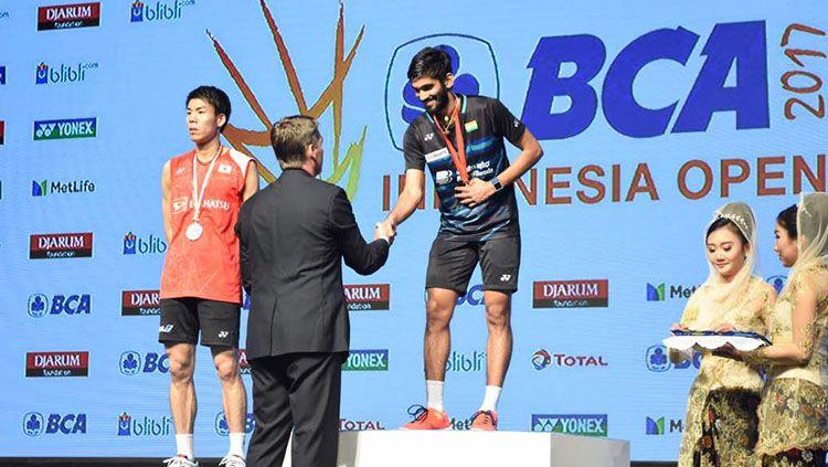 Ajang Indonesia Open 2017 menghadirkan lima kejadian yang unik. Copyright: © Indosport/Internet