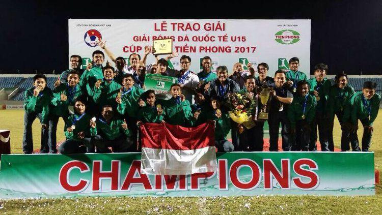 Timnas Indonesia U-16 Copyright: © PSSI
