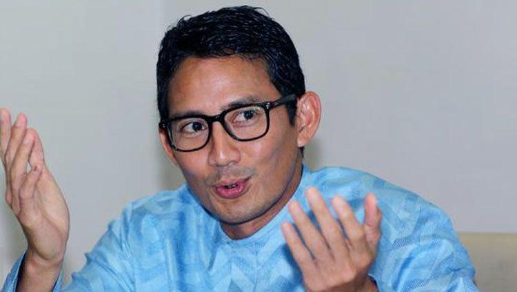 Sandiaga Salahuddin Uno, memiliki rencana yang tak terduga dan sangat mengasyikkan dalam tanggapannya atas Formula E di Monas. Copyright: © Liputan6
