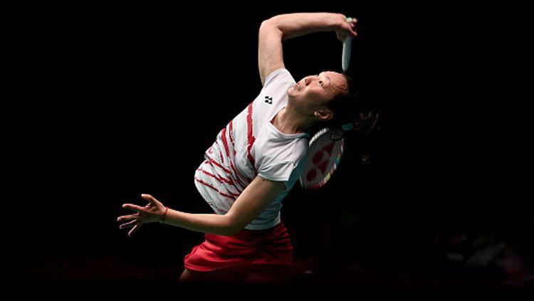 Pebulutangkis tunggal putri Amerika Serikat, Beiwen Zhang sukses melangkah ke Perempatfinal Hong Kong Open 2019 setelah mengalahkan wakil China, Yan Yan Cai pada, Kamis (14/11/19). Copyright: © getty images