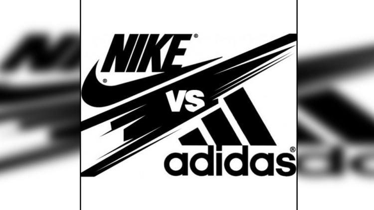 Logo Nike vs Adidas. Copyright: © Brigadaspoerte