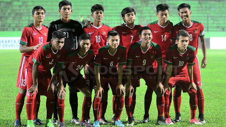 Skuat Timnas U-19 disiapkan untuk menghadapi Piala AFF U-19. Copyright: © Indosport/Ian Setiawan