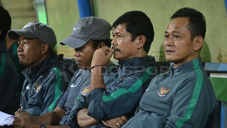 Indra Sjafri tengah mempersiapkan skuat Piala AFF U-19. Copyright: © Indosport/Ian Setiawan