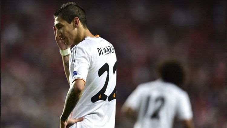 Angel Di Maria ketika masih memperkuat Real Madrid. Copyright: © Getty Images