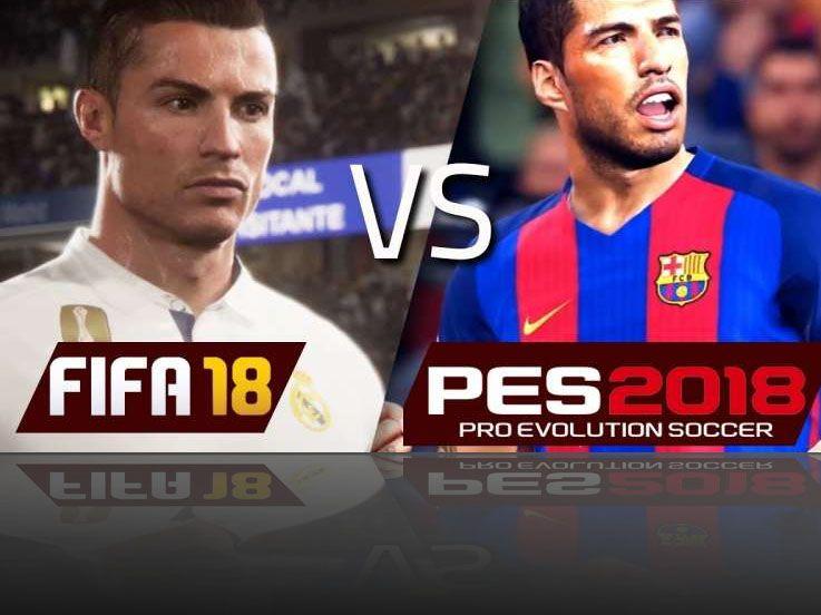 Mengintip FIFA 2018 vs PES 2018, Siapa Lebih Oke?