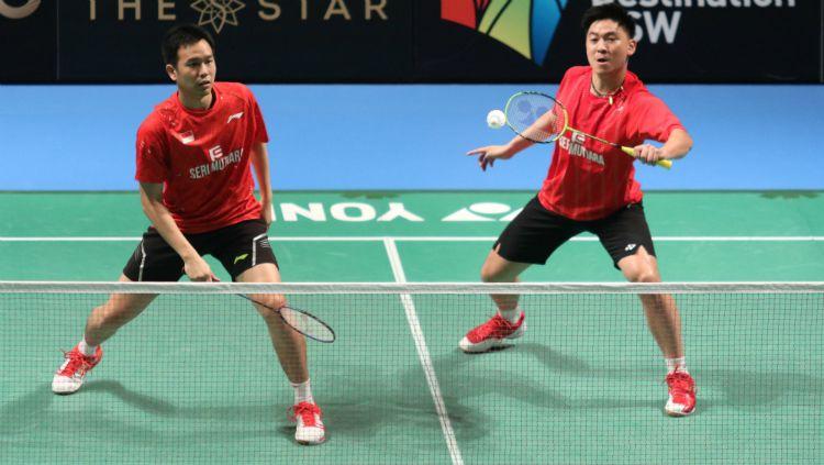 Legenda ganda putra Malaysia sekaligus eks pasangan Hendra Setiawan, Tan Boon Heong mengaku tidak habis pikir mengapa ada 4 pelatih Indonesia di BAM. Copyright: © Humas PBSI