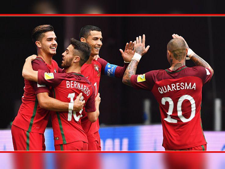 (CUPLIKAN GOL) Selandia Baru 0-4 Portugal: Aman di Puncak