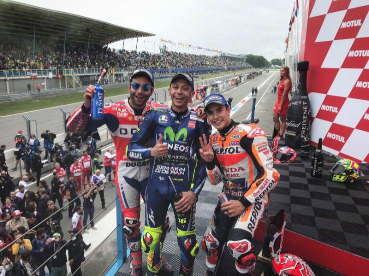 MotoGP Belanda: Catatan Emas Rossi hingga Nasib Lorenzo