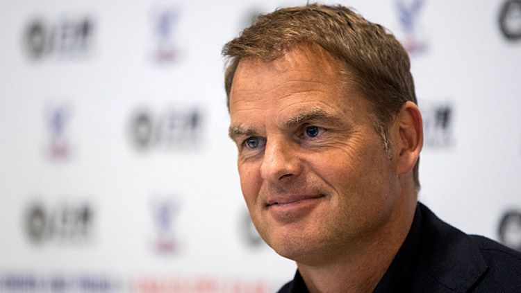 Frank de Boer, pelatih anyar Crystal Palace. Copyright: © getty images