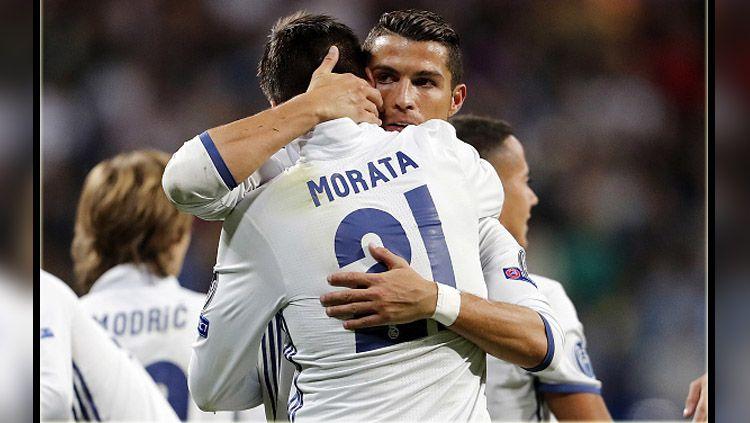 Cristiano Ronaldo Diuntungkan Dengan Resminya Morata ke Juventus Copyright: © getty images