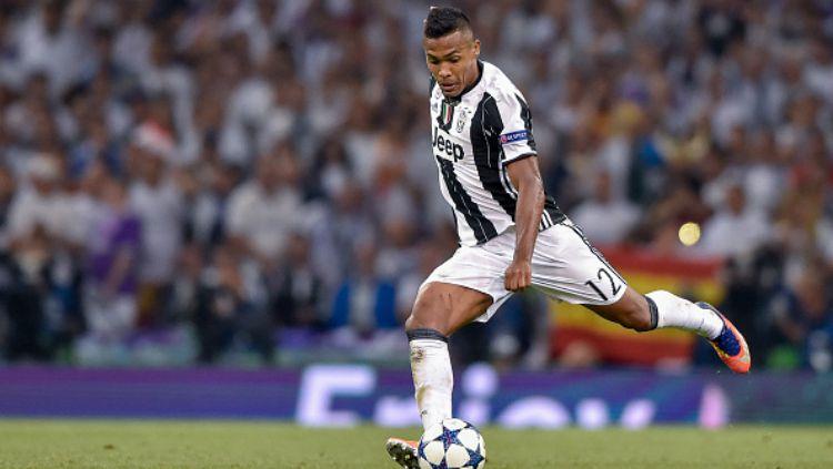 Bek kiri Juventus, Alex Sandro. Copyright: © getty images