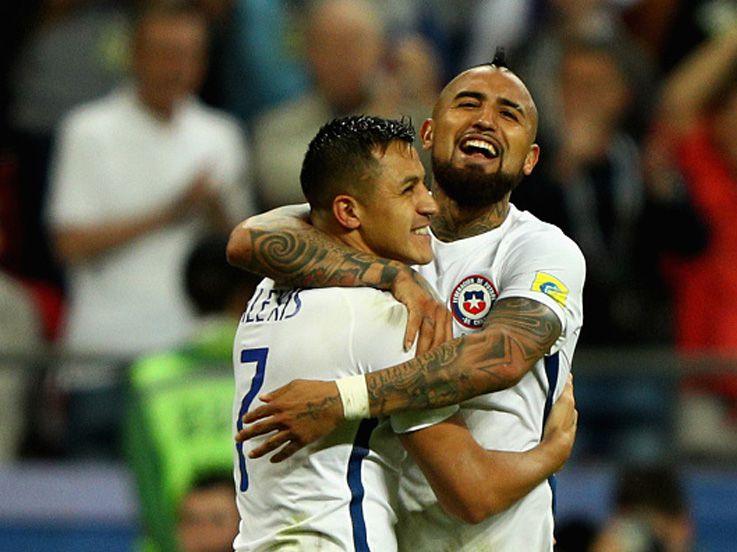 (CUPLIKAN GOL) Portugal 0-3 Chile: Bravo Luar Biasa!
