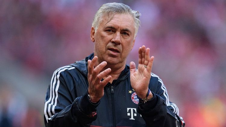 Pelatih Bayern Munchen, Carlo Ancelotti. Copyright: © Matthias Hangst/Bongarts/Getty Images