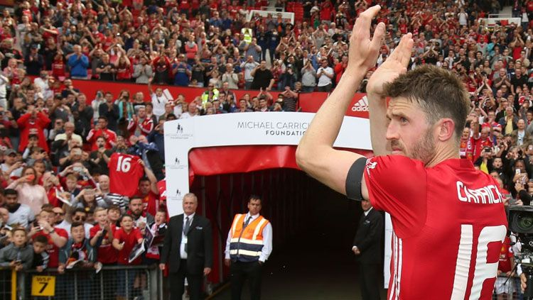Gelandang Manchester United, Michael Carrick. Copyright: © INDOSPORT