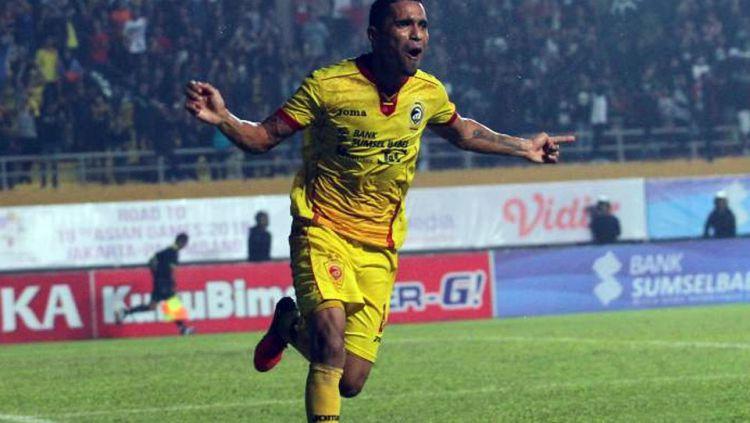 Alberto Goncalves (Sriwijaya FC) Copyright: © Gelora Trisula Semesta