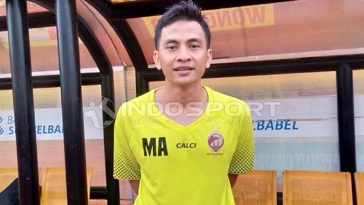 Pelatih fisik Sriwijaya FC, Muhammad Alimudin. Copyright: © Muhammad Effendi/INDOSPORT