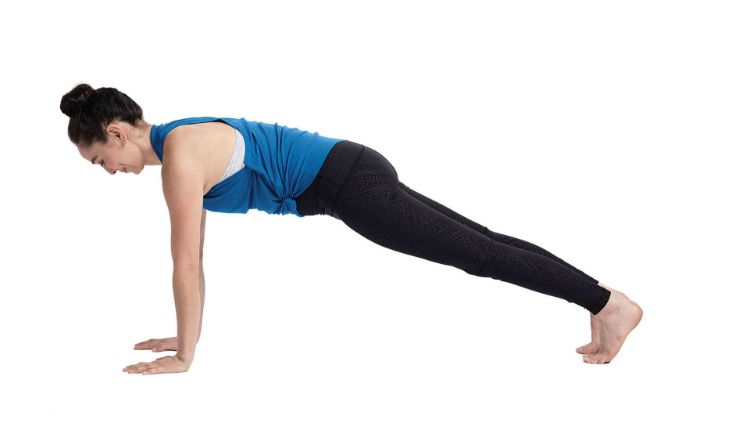 Plank Pose. Copyright: © Yoga Journal.