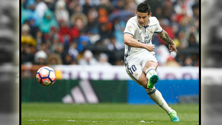 James Rodriguez Ketika Masih Bermain di Real Madrid. Copyright: © Indosport.com