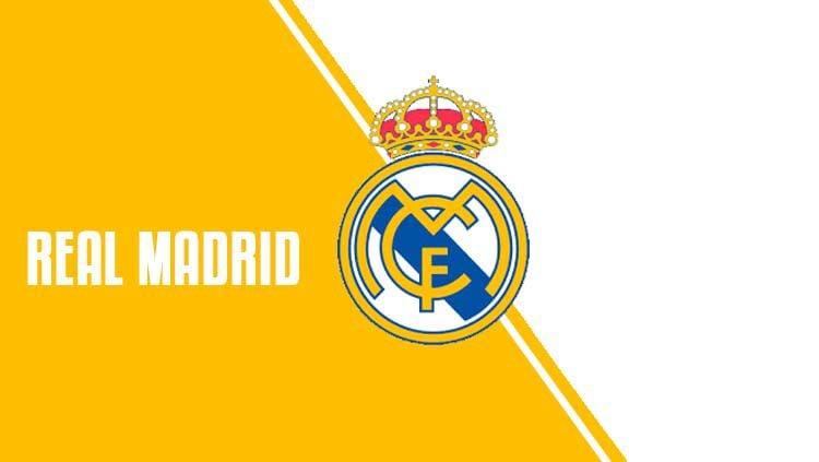 Logo Real Madrid. Copyright: © Grafis: Eli Suhaeli/INDOSPORT