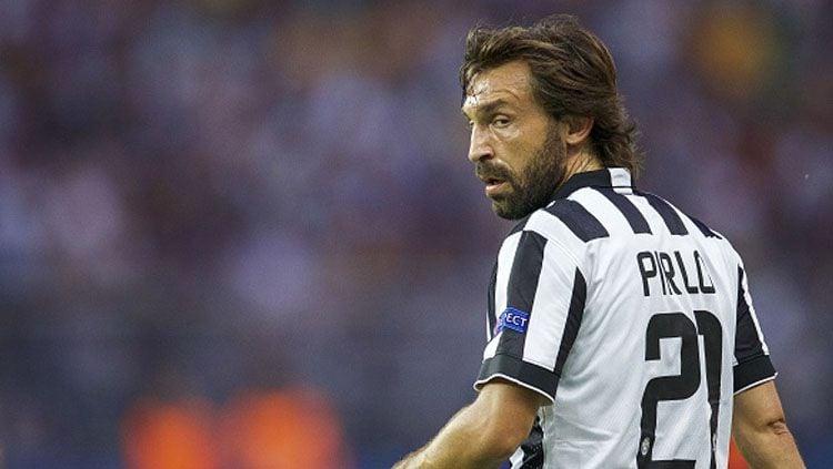 Andrea Pirlo saat masih berseragam Juventus. Copyright: © INDOSPORT