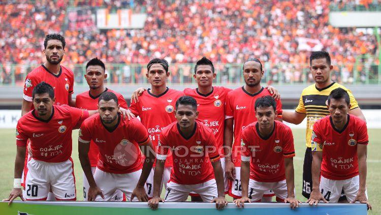 Persija Jakarta vs Borneo FC di Stadion Patriot Candrabhaga, Bekasi, Liga 1 2017. Copyright: © Herry Ibrahim/INDOSPORT