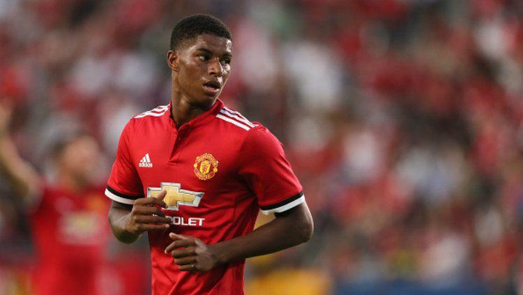 Bintang muda Manchester United, Marcus Rashford. Copyright: © Matthew Ashton - AMA/Getty Images