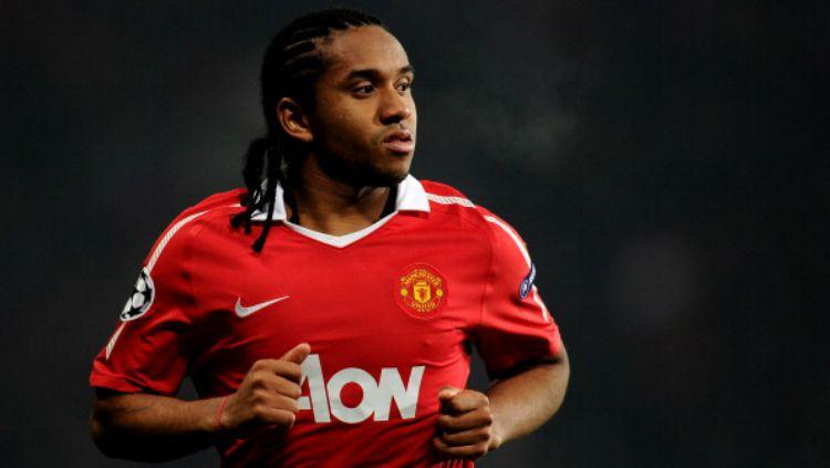 Anderson Luis de Abreu Oliveira kala memperkuat Manchester United. Copyright: © Indosport