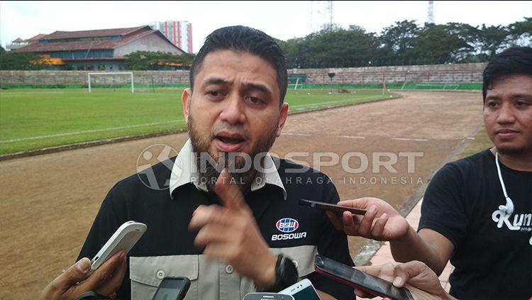 CEO PSM Makassar, Munafri Arifuddin. Copyright: © Muhammad Basri/INDOSPORT