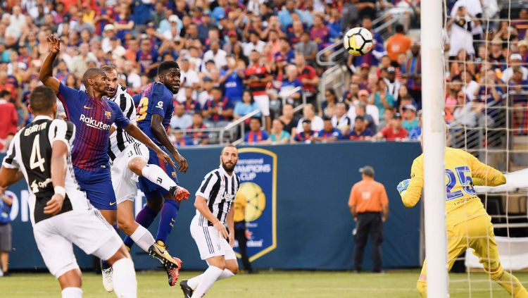 Juventus vs Barcelona. Copyright: © Twitter/JuventusFC