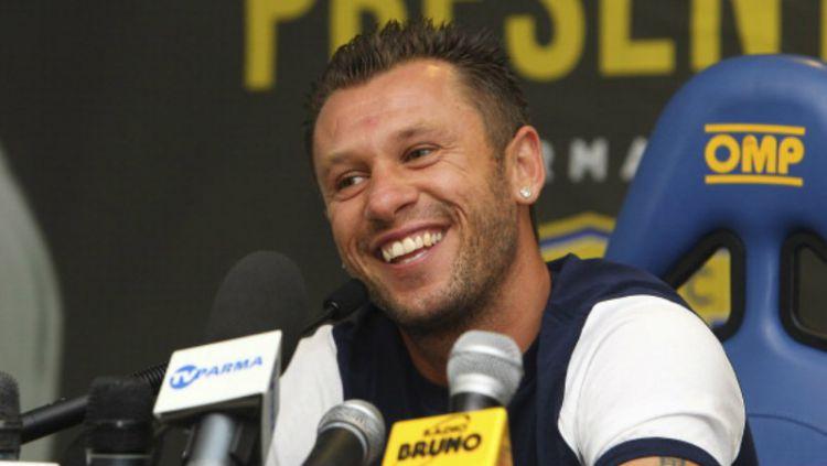 Eks Inter dan AC Milan, Antonio Cassano Copyright: © INDOSPORT