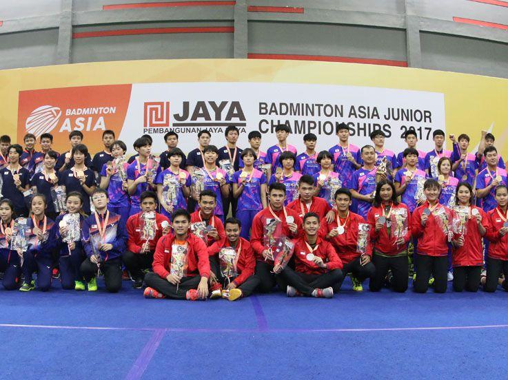 Indonesia Sabet Gelar Runner Up di AJC 2017