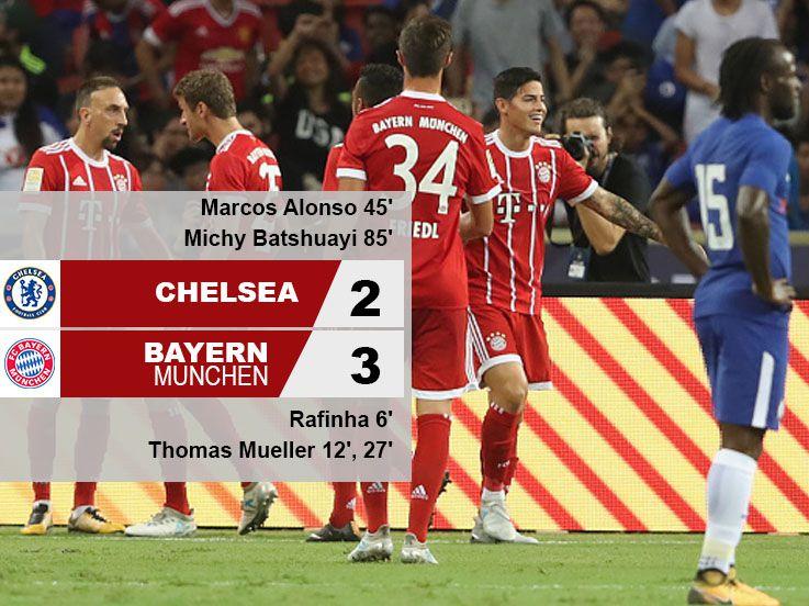 Chelsea 2-3 Munchen: The Bavarians Perkasa!