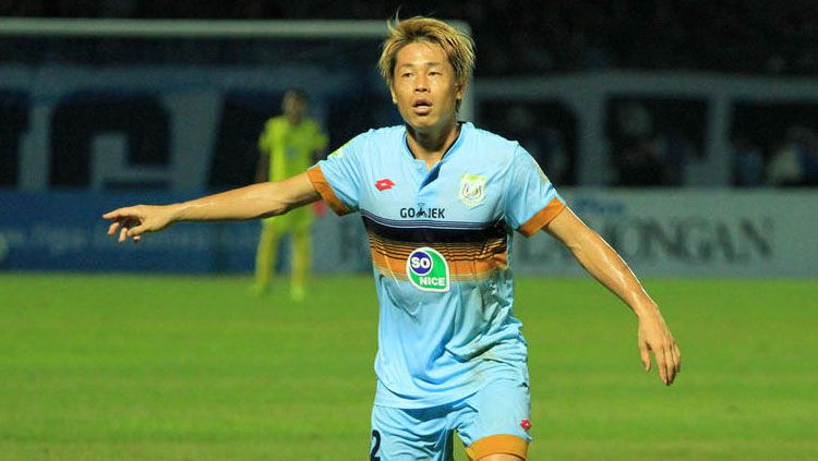 Kosuke Yamazaki Uchida kini resmi berseragam Barito Putera. Copyright: © Twitter